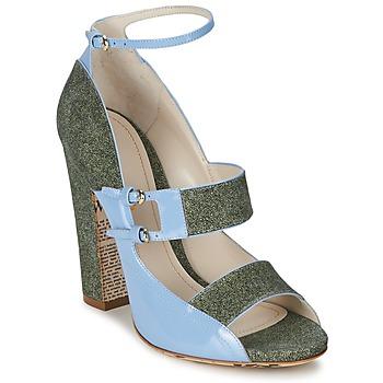 Cipők Női Szandálok / Saruk John Galliano A54250 Kék / Zöld