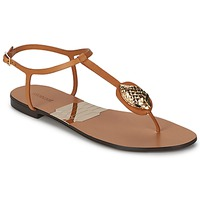 Cipők Női Lábujjközös papucsok Roberto Cavalli XPX243-PZ220 Barna