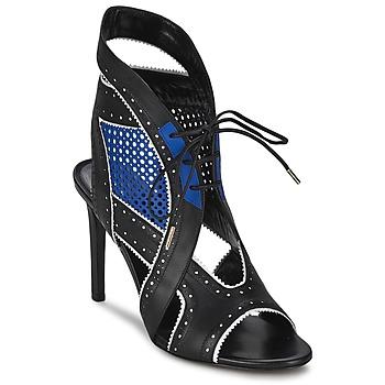 Cipők Női Szandálok / Saruk Roberto Cavalli XPS254-PZ448 Fekete  / Kék