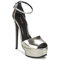 Cipők Női Szandálok / Saruk Roberto Cavalli XPS260-PZ048 Szürke / Ezüst