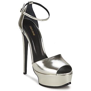 Cipők Női Szandálok   Saruk Roberto Cavalli XPS260-PZ048 Szürke   Ezüst 6099681116