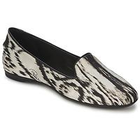 Cipők Női Balerina cipők  Roberto Cavalli XPS280-FLA35 Bézs / Fekete