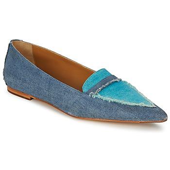 Cipők Női Mokkaszínek Castaner KATY Kék / Farmer
