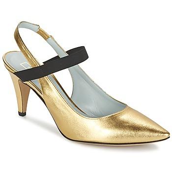 Cipők Női Félcipők Marc Jacobs VALERY Arany
