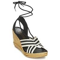 Cipők Női Szandálok / Saruk Marc Jacobs DANI Fekete  / Fehér
