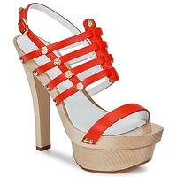 Cipők Női Szandálok / Saruk Versace DSL943T Piros