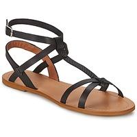 Cipők Női Szandálok / Saruk So Size BEALO Fekete