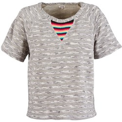 Ruhák Női Rövid ujjú pólók Manoush ETNIC SWEAT Szürke
