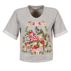 Ruhák Női Rövid ujjú pólók Manoush GIPSY Szürke