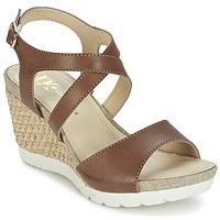 Shoes Női Szandálok / Saruk Lumberjack SISSI Barna / Bézs