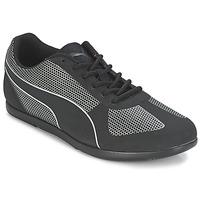 Cipők Női Rövid szárú edzőcipők Puma MODERN SOLEIL Fekete