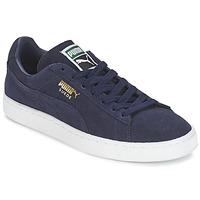 Cipők Rövid szárú edzőcipők Puma SUEDE CLASSIC + Tengerész