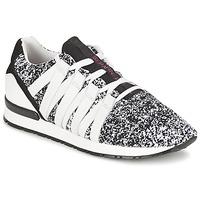 Cipők Női Rövid szárú edzőcipők Serafini MIAMI Fekete  / Fehér