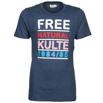 Ruhák Férfi Rövid ujjú pólók Kulte AUGUSTE FREE Kék
