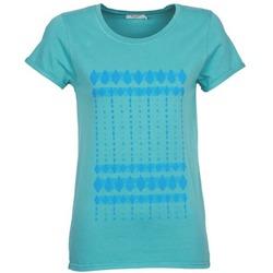 Ruhák Női Rövid ujjú pólók Kulte JULIETTE BATIK Kék