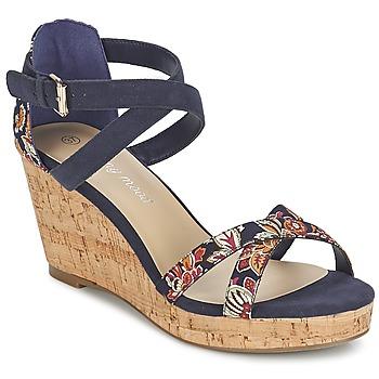 Shoes Női Szandálok / Saruk Moony Mood EMARLENE Tengerész