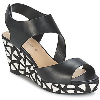 Cipők Női Szandálok / Saruk Moony Mood EPALINE Fekete