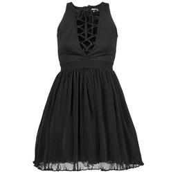 Ruhák Női Rövid ruhák Manoush MARILACET Fekete