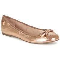 Cipők Női Balerina cipők / babák Menbur ZINNA Rózsaszín / Arany