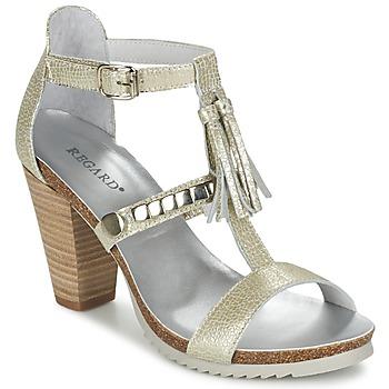 Cipők Női Szandálok / Saruk Regard ROKOLO Platina