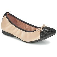 Shoes Női Balerina cipők / babák Mam'Zelle NUPO Bézs / Fekete