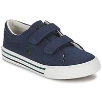 Cipők Gyerek Rövid szárú edzőcipők Polo Ralph Lauren HARRISON EZ Kék