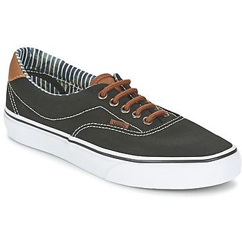 Cipők Rövid szárú edzőcipők Vans ERA 59 Fekete  / Csíkos / Farmer
