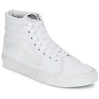 Shoes Magas szárú edzőcipők Vans SK8-HI Fehér