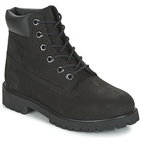Shoes Fiú Csizmák Timberland 6 IN PREMIUM WP BOOT Fekete
