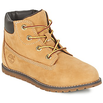 Shoes Gyerek Csizmák Timberland POKEY PINE 6IN BOOT WITH Búza