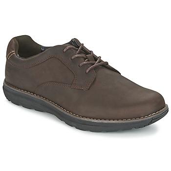 Cipők Férfi Oxford cipők Timberland BARRETT PT OXFORD Barna / Sötét