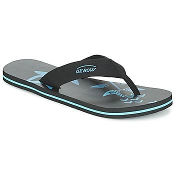 Cipők Férfi Lábujjközös papucsok Oxbow TAVUM Fekete