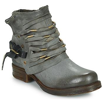 Cipők Női Csizmák Airstep / A.S.98 SAINT Fekete  / Füst