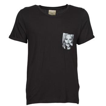Ruhák Férfi Rövid ujjú pólók Eleven Paris KMPOCK Fekete