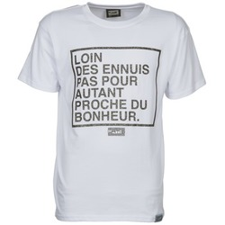 Ruhák Férfi Rövid ujjú pólók Wati B LOIN Fehér