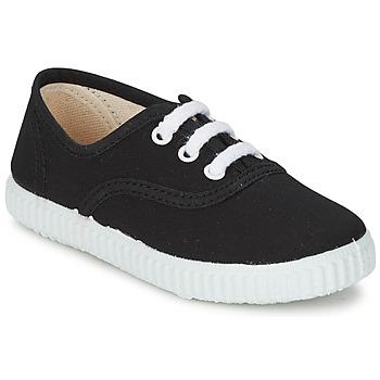 Cipők Gyerek Rövid szárú edzőcipők Citrouille et Compagnie KIPPI BOU Fekete