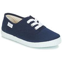 Shoes Gyerek Rövid szárú edzőcipők Citrouille et Compagnie KIPPI BOU Tengerész