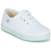Shoes Gyerek Rövid szárú edzőcipők Citrouille et Compagnie KIPPI BOU Fehér