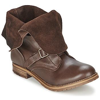 Cipők Női Csizmák Casual Attitude DISNELLE Barna