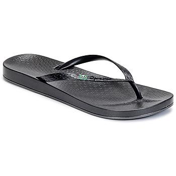 Cipők Női Lábujjközös papucsok Ipanema ANATOMIC BRILLANT III Fekete