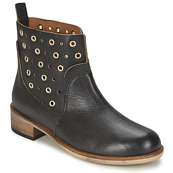 Cipők Női Csizmák BOSS Casual 50266292 Fekete
