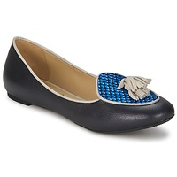 Cipők Női Balerina cipők  Etro 3922 Kék