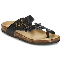 Shoes Női Lábujjközös papucsok Dream in Green GHISLA Fekete