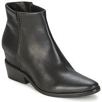 Cipők Női Csizmák Strategia BLOCUSSON Fekete