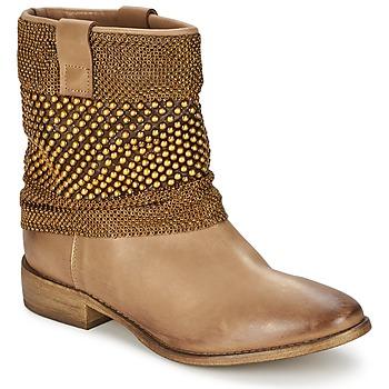 Cipők Női Csizmák Strategia MAILLETT Arany