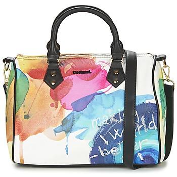 Bags Női Kézitáskák Desigual BOWLING STROKER Fehér / Sokszínű