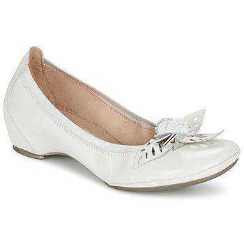 Cipők Női Balerina cipők / babák Hispanitas VALENCE Fehér