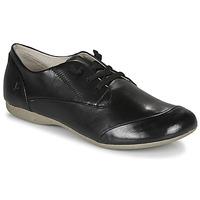 Cipők Női Oxford cipők Josef Seibel FIONA 01 Fekete