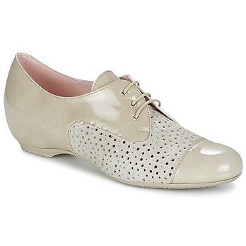 Cipők Női Oxford cipők Pitillos CLETTE Ekrü