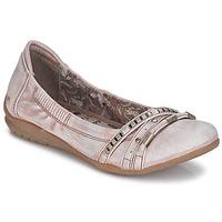 Cipők Női Balerina cipők / babák Mustang IVERO Rózsaszín